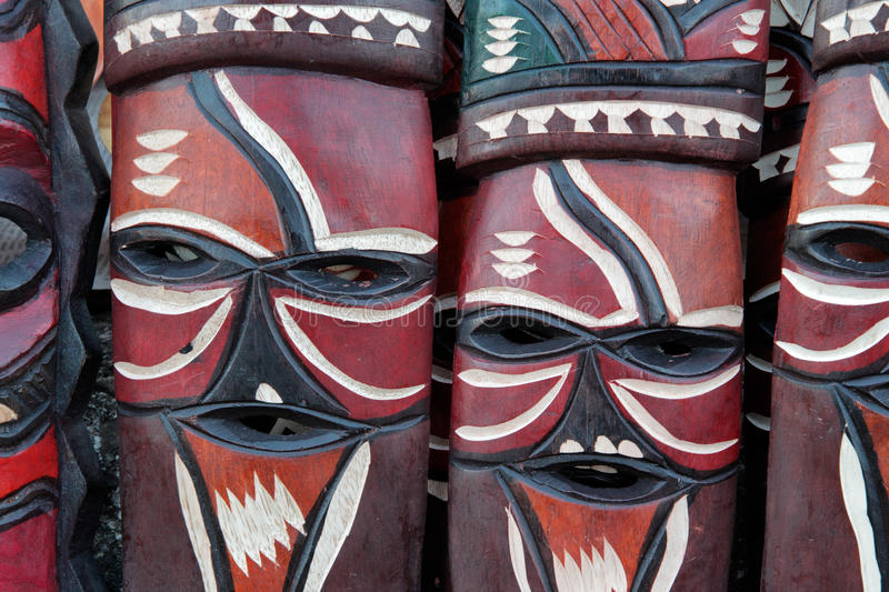 Download African masks stock image. Image of decorated, african - 26388521