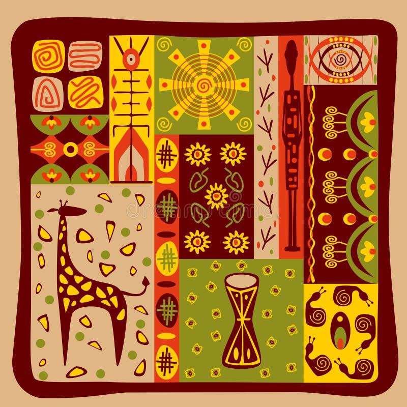 African pattern vector illustration