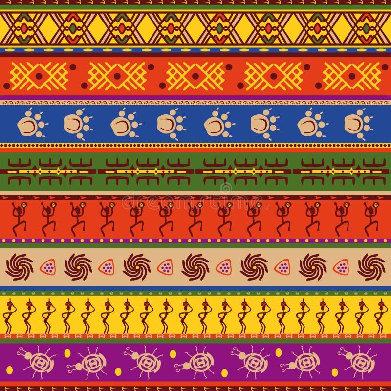 African pattern stock illustration