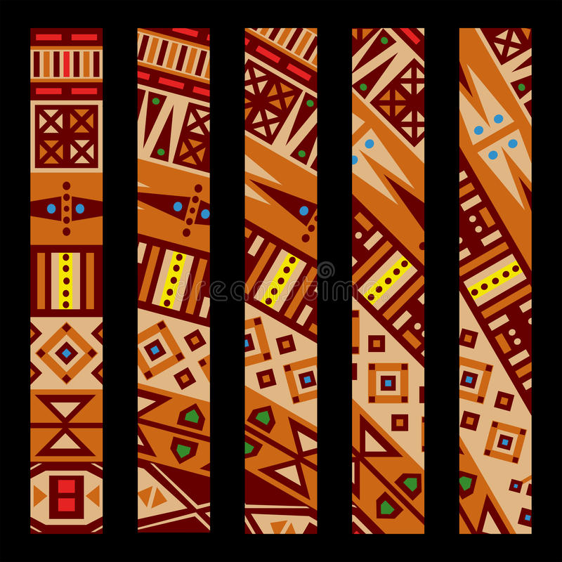 Download African pattern stock vector. Image of contrast, decoration - 25357072