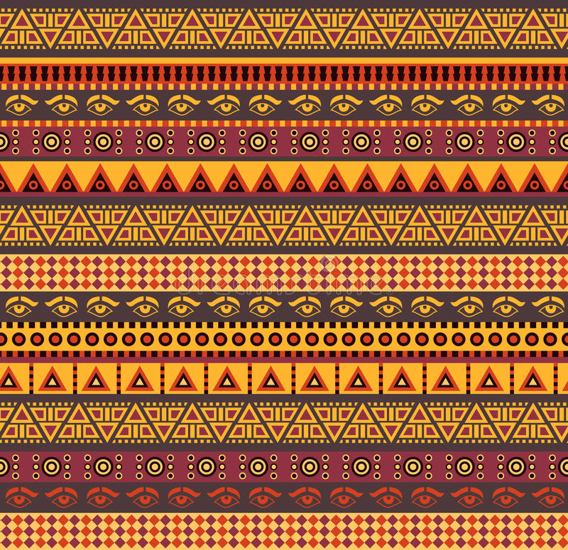 Free African Pattern Royalty Free Stock Images - 50893469