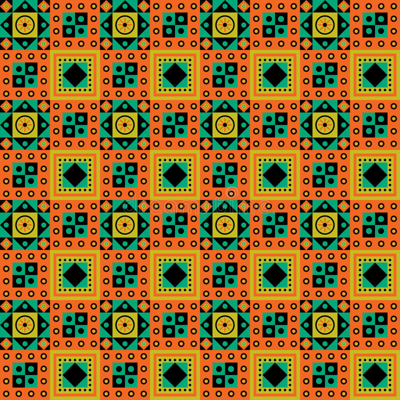 African Pattern Design vector illustration
