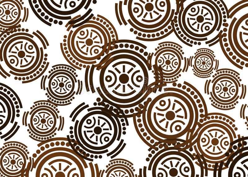 African Print fabric, Ethnic handmade ornament for your design, Ethnic and tribal motifs geometric elements. Vector texture, afro. Textile Ankara fashion style vector illustration
