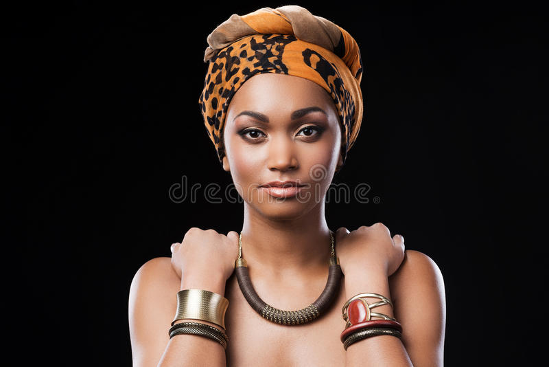 African queen. stock image