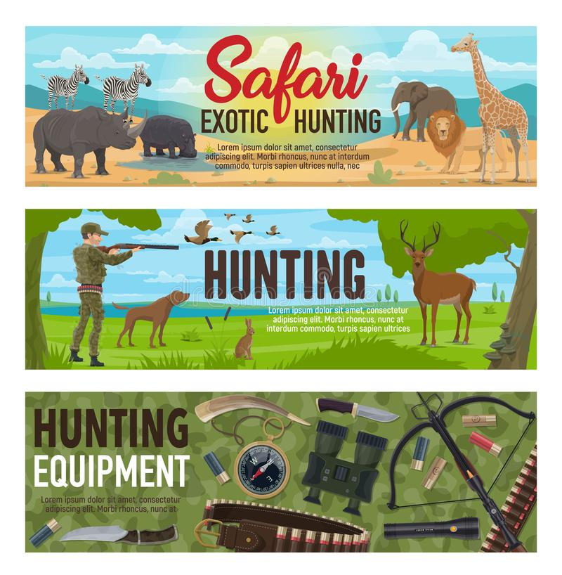 Free African Safari And Forest Hunting Sport Stock Photography - 126980522