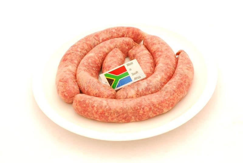 African Sausages Stock Photos