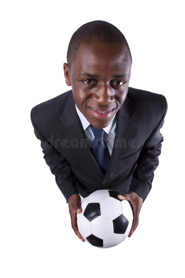 Download African soccer fan stock image. Image of mister, descent - 16110215