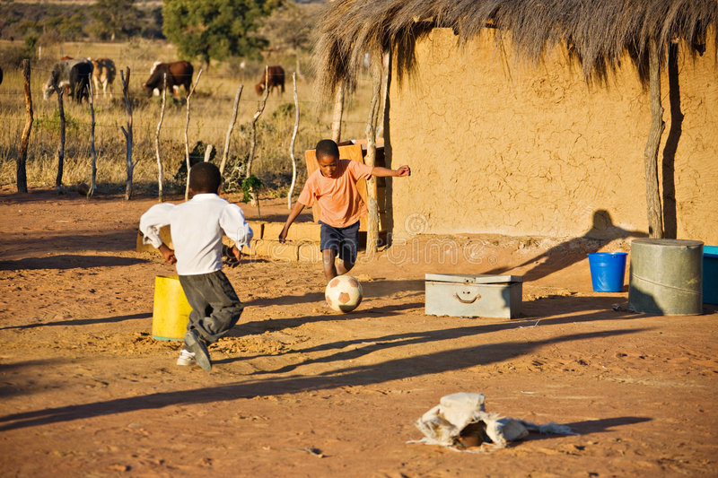 Download African sport stock image. Image of playing, boys, football - 7249621