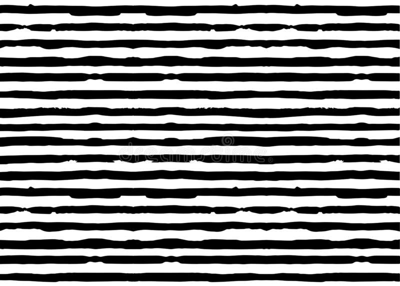 African striped Print fabric, Ethnic handmade ornament for your designtribal pattern motifs linear elements. Vector zebra texture. African striped Print fabric royalty free illustration