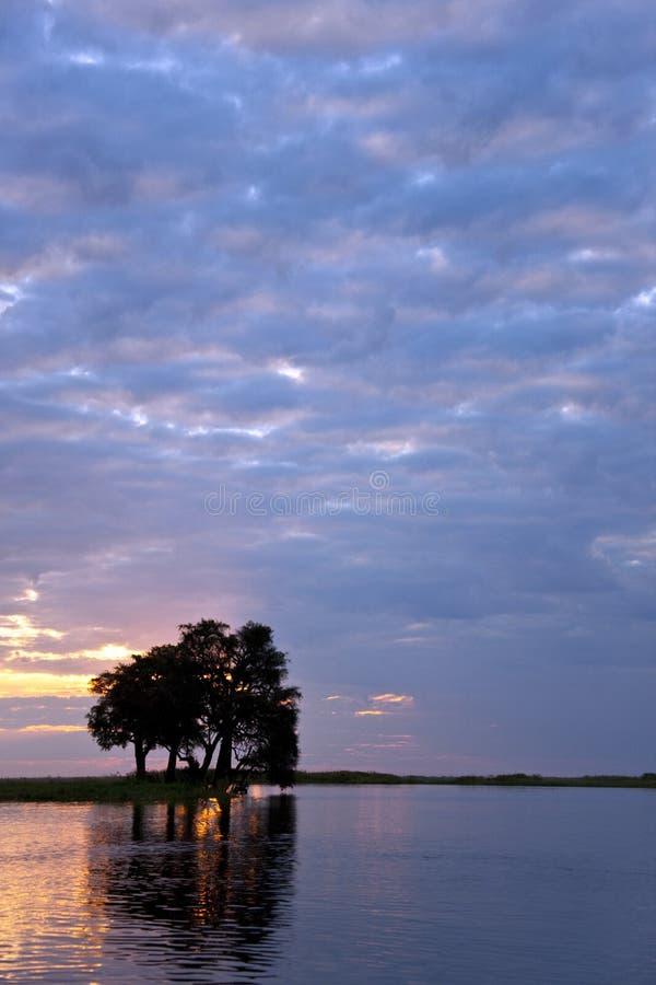 Free African Sunset - Botswana Stock Photos - 15045463