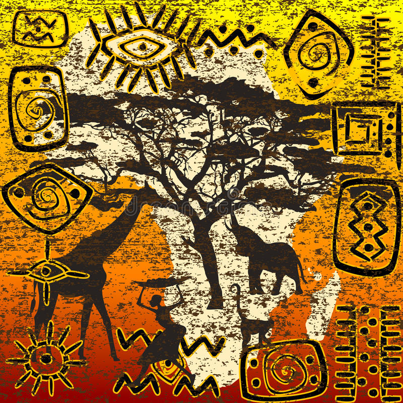 Download African Symbols Set Stock Photography - Image: 28627272