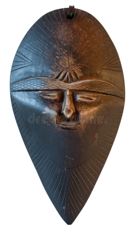African traditional mask from Morocco royalty free stock photos