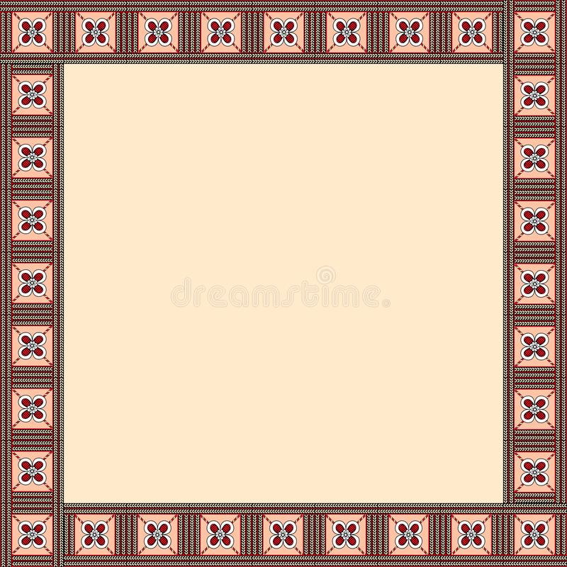 African traditional ornament. royalty free stock images