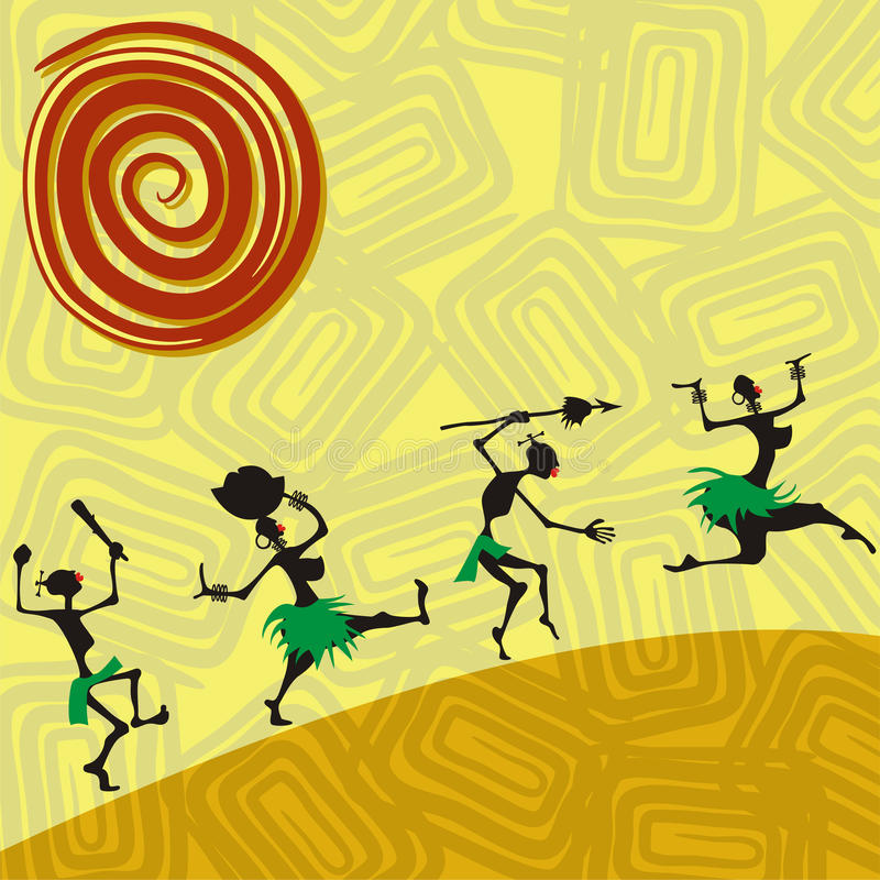 African traditional picture
