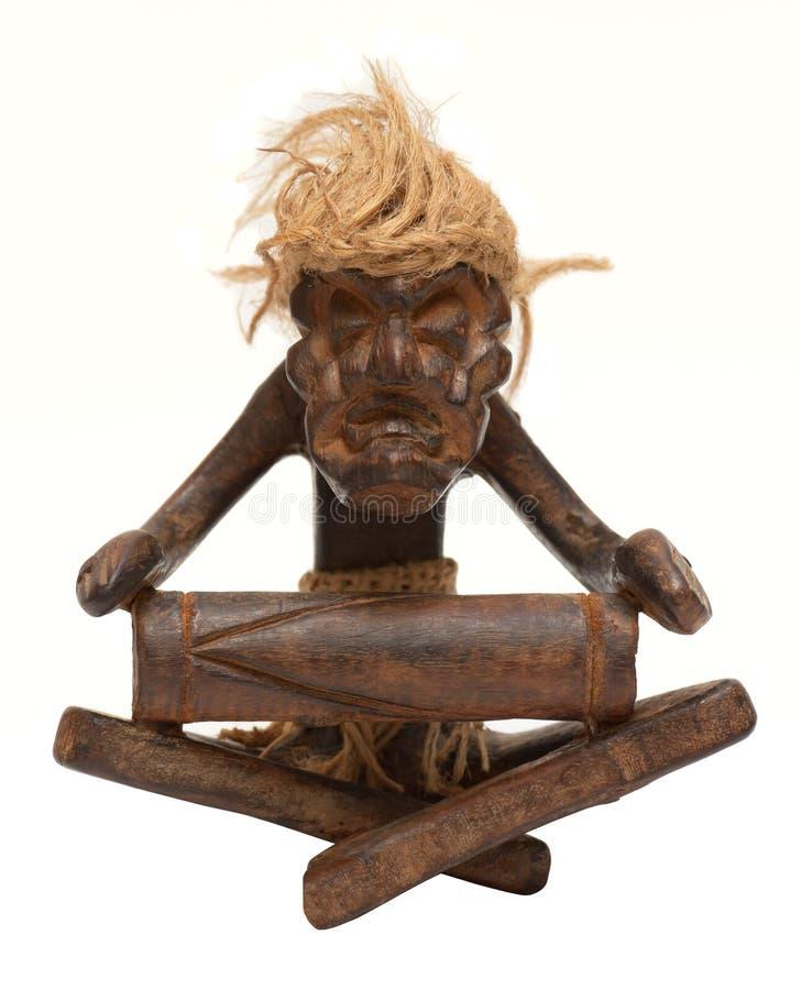African tribal art figurine stock photography