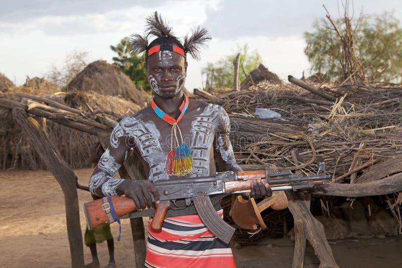 African tribal man