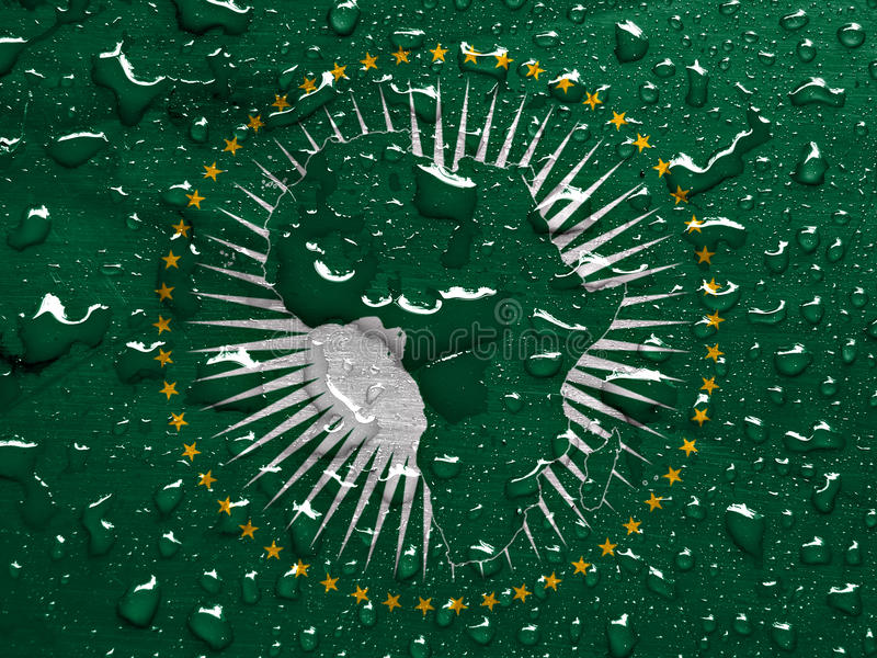 African Union royalty free stock photography