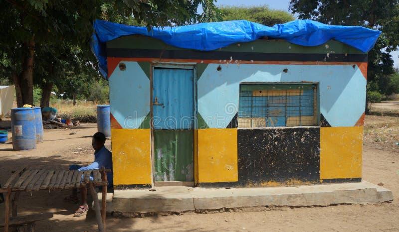 African Village Shop. A shop in a village near Arusha, Tanzania (Africa royalty free stock photos