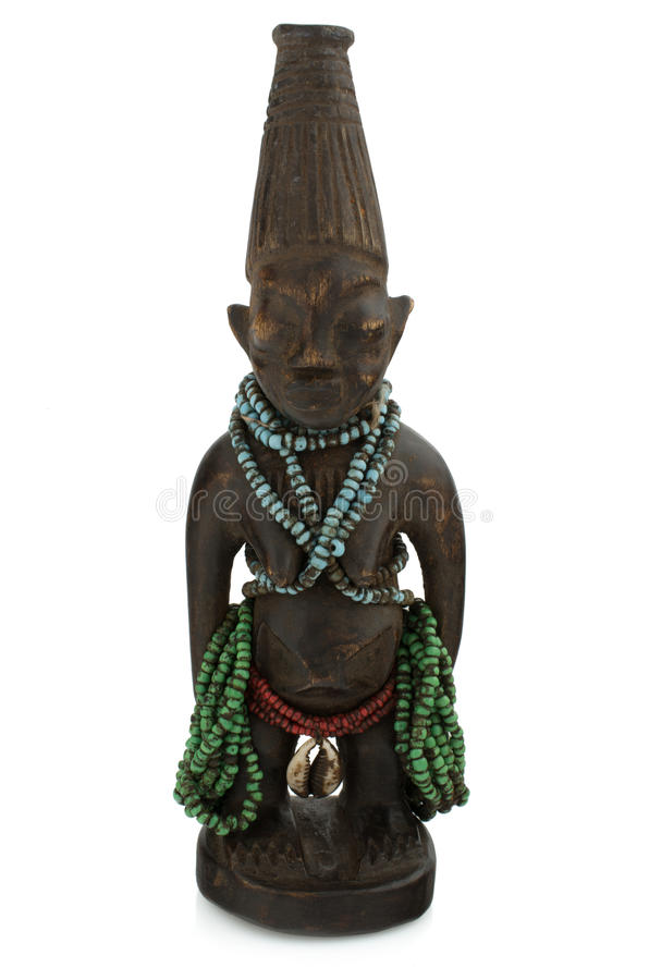 African Voodoo statue royalty free stock images