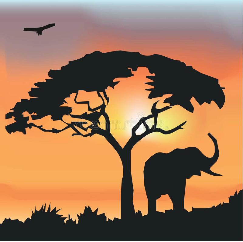 Download African Wildlife Background Royalty Free Stock Photos - Image: 15318748