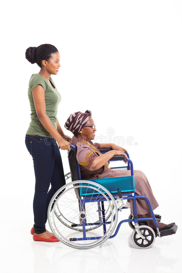 African woman grandmother stock photography