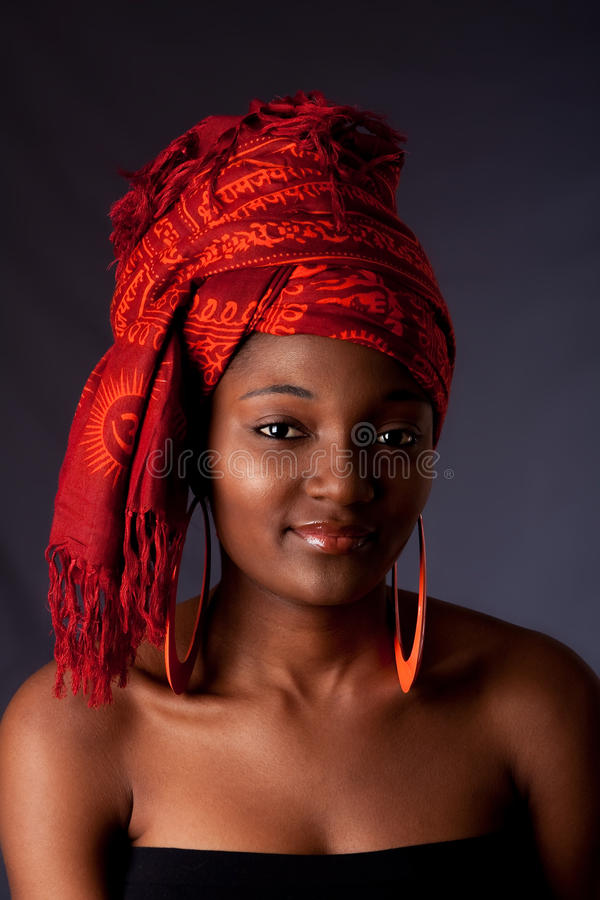 Download African Woman With Headwrap Stock Image - Image: 10477831