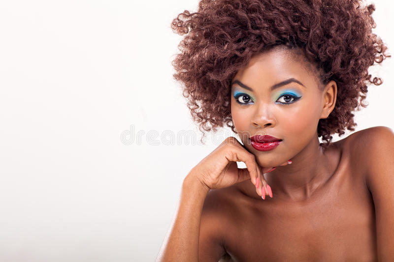 African woman stylish stock images