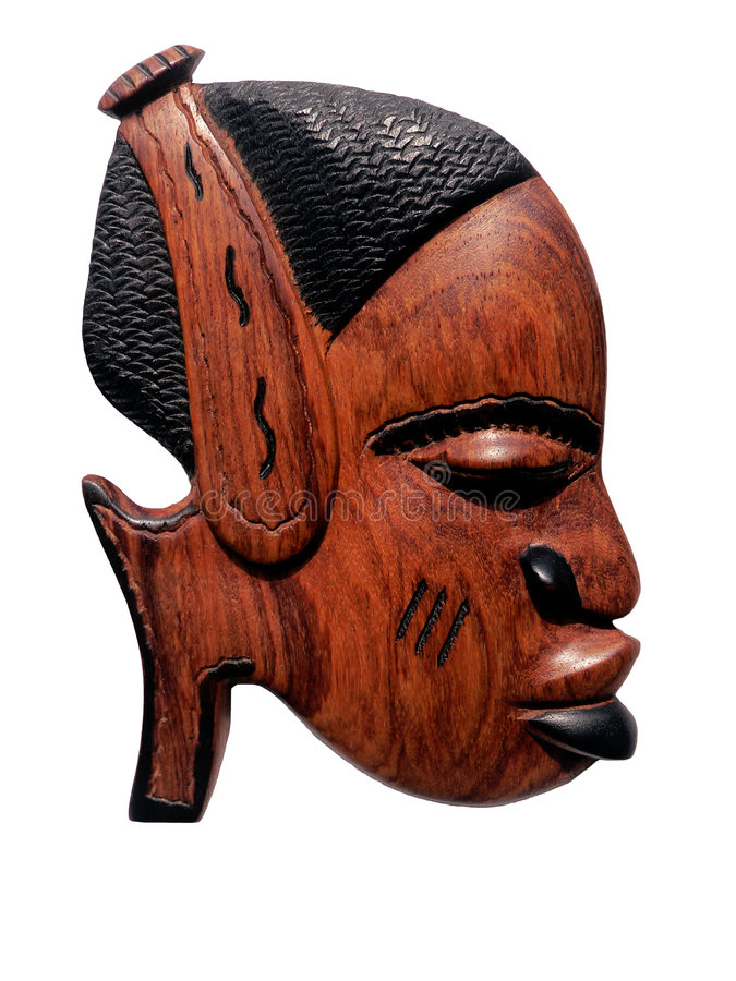 Free African Wood Carving Royalty Free Stock Photos - 519848