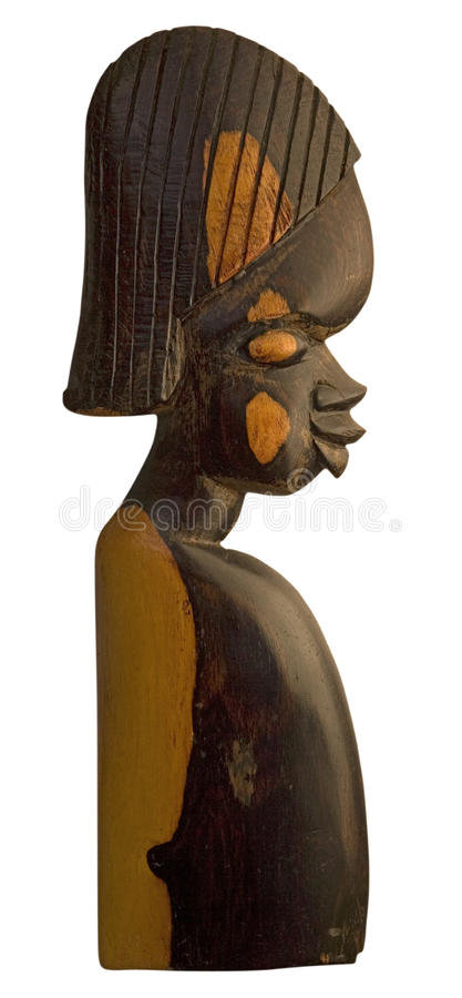 Free African Wood Sculpture Stock Images - 25866894