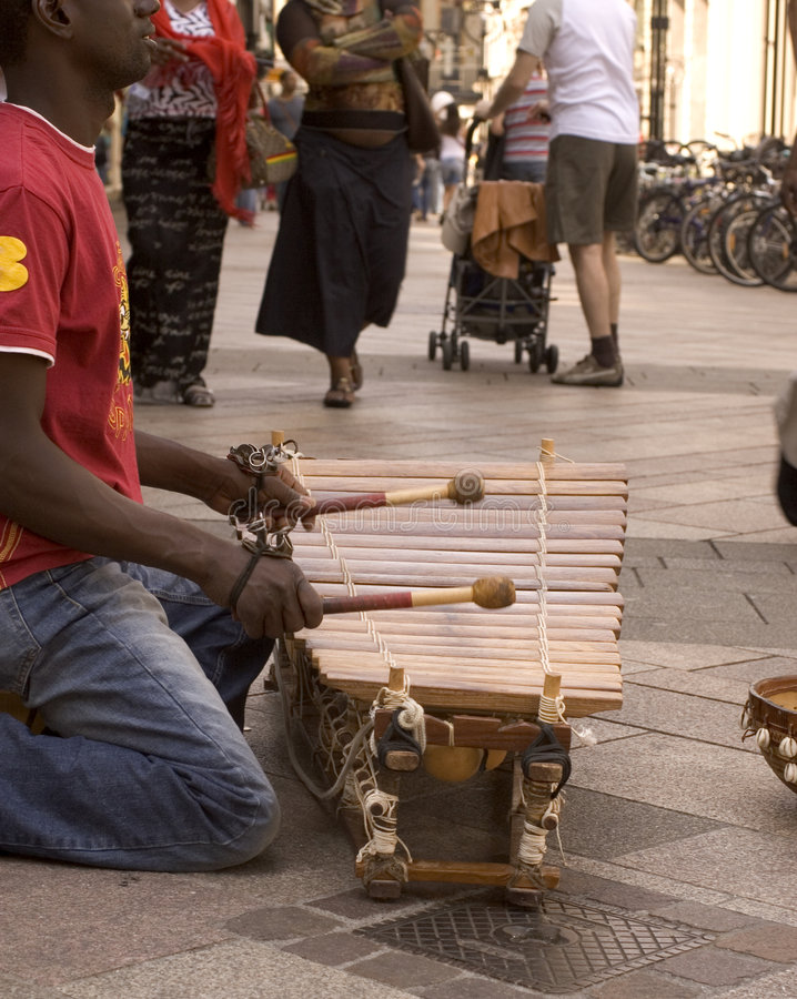 Download African xylophone (0329) stock photo. Image of playing - 2351878