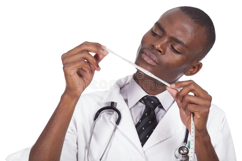 African young doctor royalty free stock photo