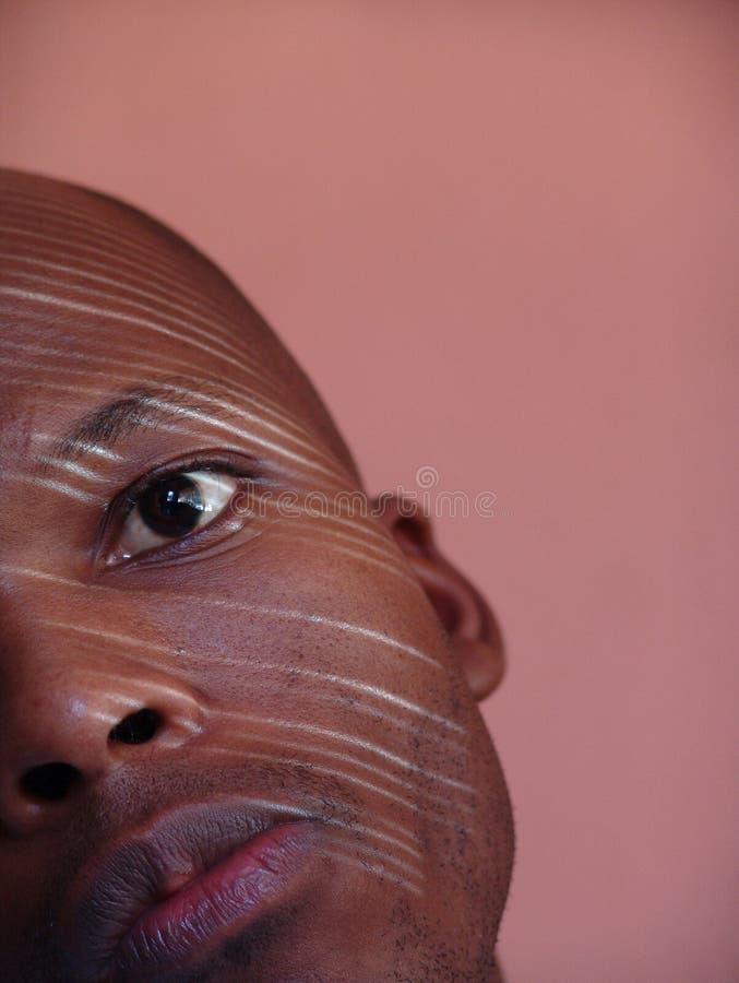 Africano dell'uomo fotografia stock libera da diritti