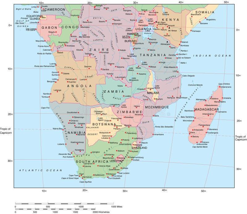 Afrika vektor abbildung