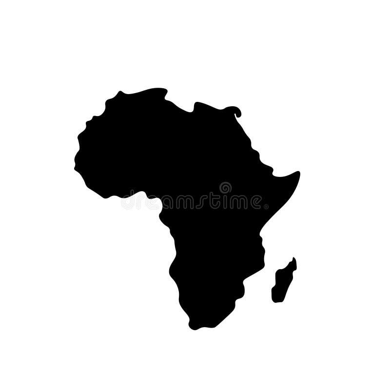 Afrika 3 vector illustratie