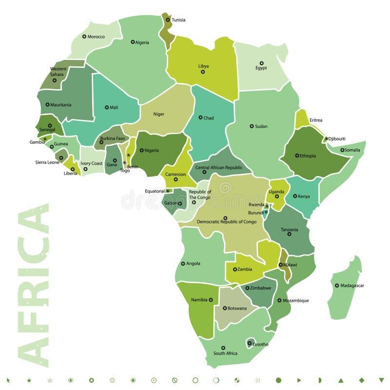 Afrika lizenzfreie abbildung