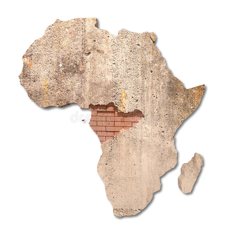 Afrika royalty-vrije stock fotografie