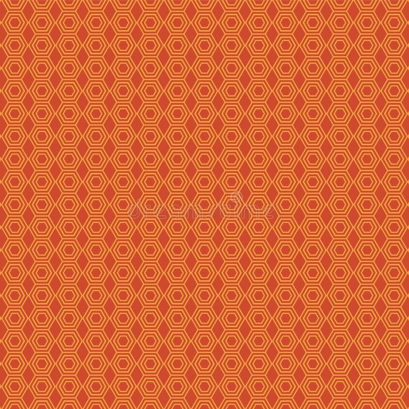Afrika-geïnspireerde patroon vector illustratie