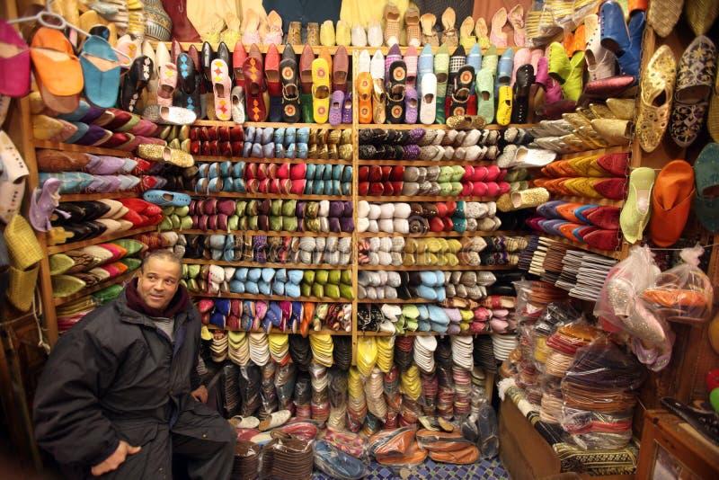 AFRIKA MAROCKO FES royaltyfri fotografi