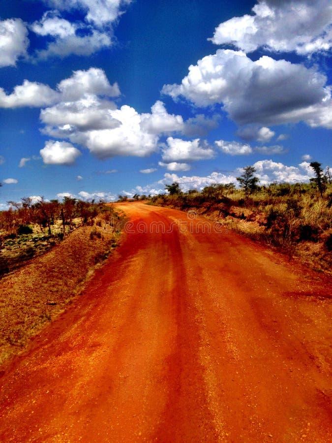 Afrika safari royaltyfria foton