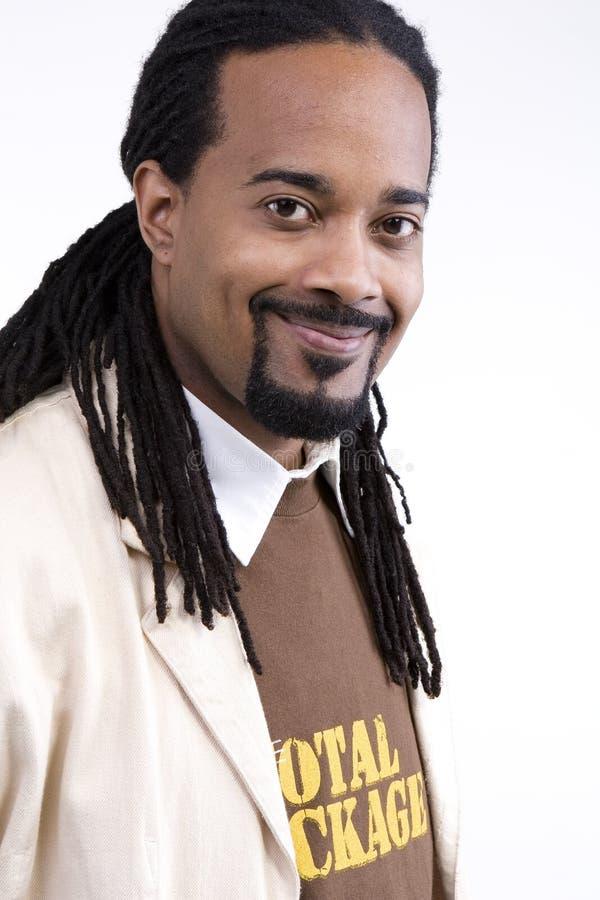 Afrikaans Amerikaans Mannelijk Model royalty-vrije stock afbeeldingen