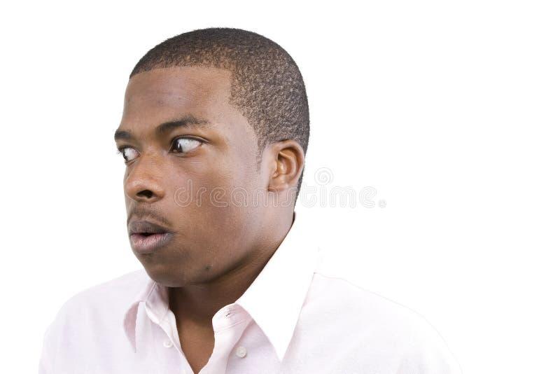 Afrikaans Amerikaans Mannelijk Model stock afbeeldingen