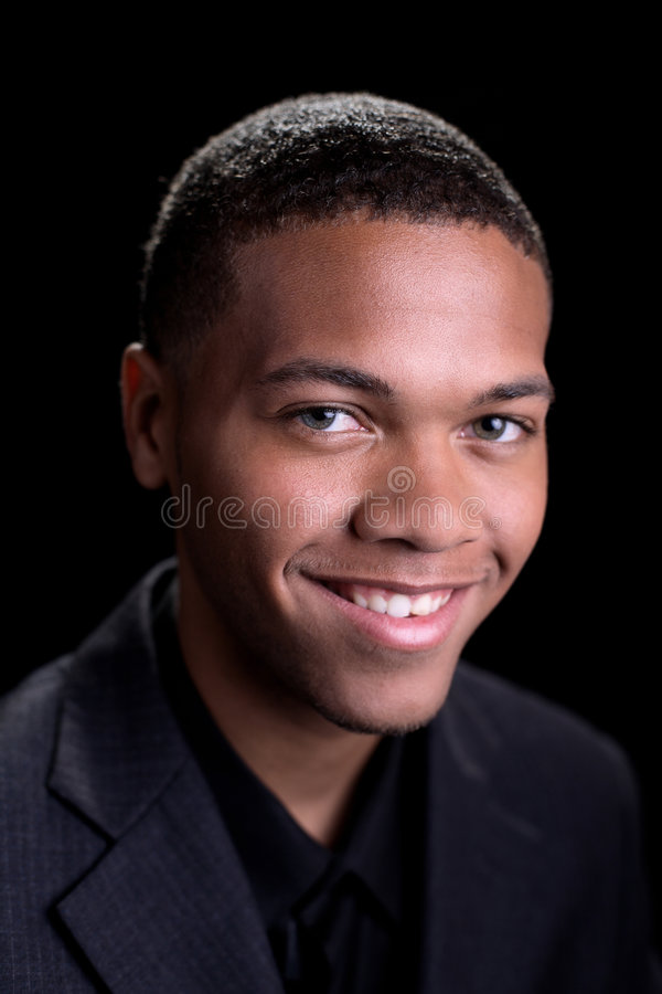 Afrikaans Amerikaans Mannetje stock afbeeldingen
