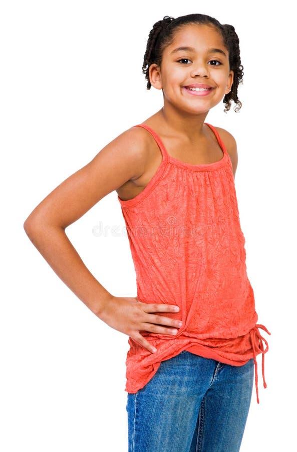 Afrikaans-Amerikaans Meisje stock afbeelding
