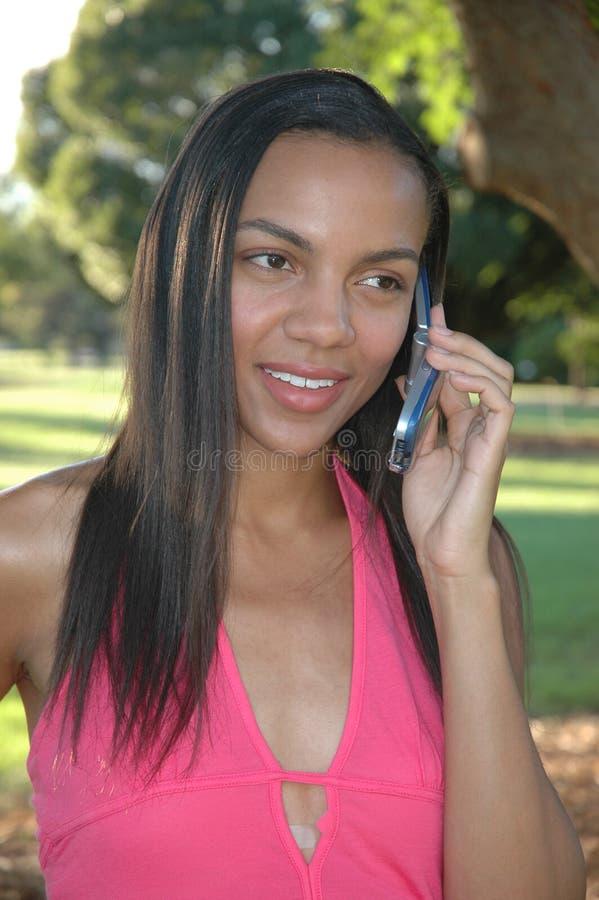 Afrikaans Amerikaans Model royalty-vrije stock afbeelding