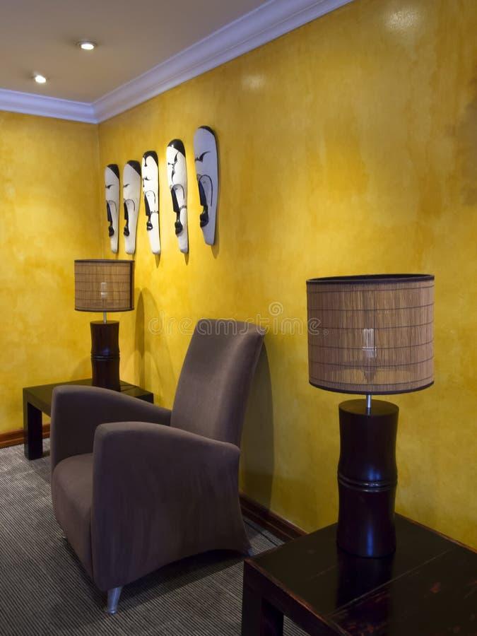 Afrikaans binnenlands decor royalty-vrije stock fotografie