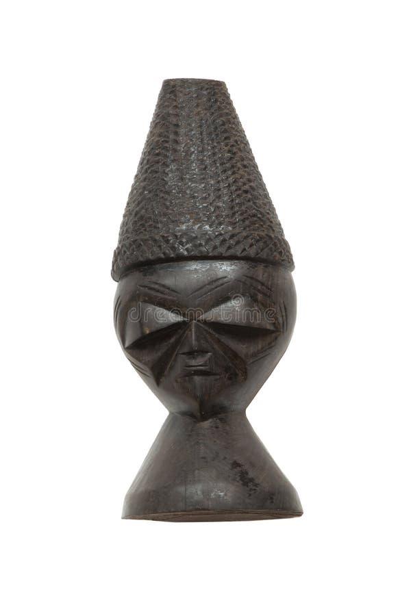 Afrikaans decoratief beeldje royalty-vrije stock fotografie