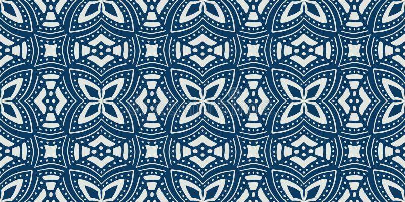 Afrikaans etnisch naadloos patroon Vector illustratie royalty-vrije illustratie