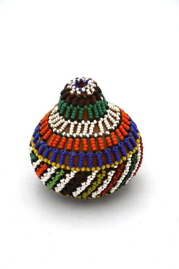 Afrikaans gepareld ornament royalty-vrije stock afbeelding