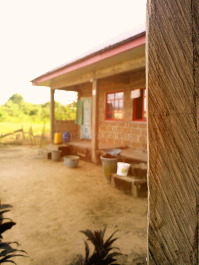Afrikaans huis stock afbeelding