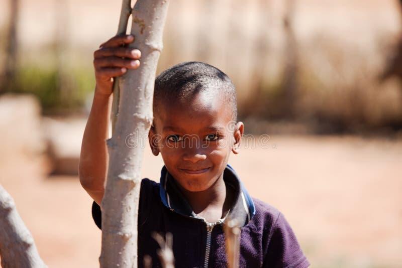 Afrikaans kind royalty-vrije stock afbeeldingen